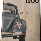1964 Volkswagen VW 1200 Beetle Bug Owner's Manual 07071680