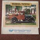 Vintage 1989 Workhorses of Yesteryear Calendar, Local Ads, Wheeling   070716452
