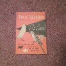 Vintage Booklet Hartz Mountain, Pet Care 070716751