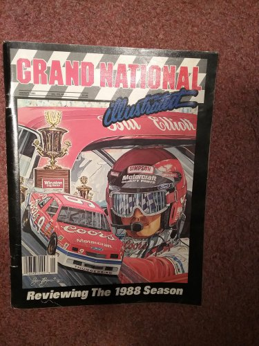 Grand National Illustrated Magazine January 1989  070716768