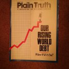 Plain Truth Magazine, August 1990, Our Rising World Debt  70716787