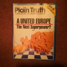 Plain Truth Magazine, july 1988, A United Europe   70716788