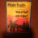 Plain Truth Magazine, November/December 1990, Acts Of God  70716790