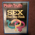 Plain Truth Magazine, April 1989 Sex the Big Risk 70716803