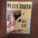 Plain Truth Magazine,  Oct 1987 Education for A Happier Life  70716814