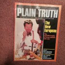 Plain Truth Magazine,  Nov-Dec 1986 The New European   70716818