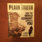 Plain Truth Magazine, March 1987 How The World Economy Affects You 70716821
