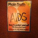 Plain Truth Magazine, March 1988 Aids 70716822