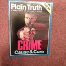 Plain Truth Magazine, Aug 1988 Crime and Cause  70716824