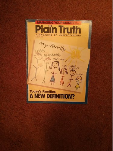 Plain Truth Magazine, August 1988 Today's Families  70716829