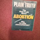 Plain Truth Magazine, May 1985 Abortion   70716832
