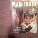 Plain Truth Magazine, September 1985 Neither Shall They  Learn War 70716835