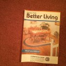 Ideas for Better Living, Sept  1992 Vol 37 No 1 Locals ads Parkersburg WV 070716903