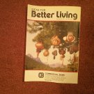 Ideas for Better Living, Dec 1993  Vol 38 No 4  Locals ads Parkersburg WV 070716909