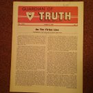Guardian of Truth Magazine, Aug 16, 1984  Vol XXVIII No 15,  070716972