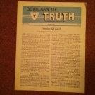 Guardian of Truth Magazine, July 7, 1983  Vol XXVII No 7,  070716975