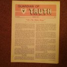 Guardian of Truth Magazine, March 3,  1983  Vol XXVII No 4,  070716976