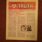Guardian of Truth Magazine, Feb 21, 1985 Vol XXIX No 4,  070716978