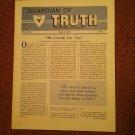 Guardian of Truth Magazine, April 4, 1985 Vol XXIX No 7,  070716979