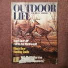 September 1980 Outdoor Life, Northeast Ed Black Bear Hunting Guide  707161033