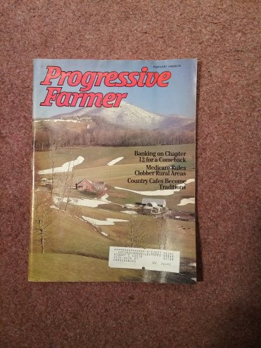 Progressive Farmer Magazine, Feb 1988 Country Cafes   707161035