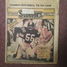 Pittsburgh Steelers Weekly Magazine, October 31, 1981 Robin Cole  707161046