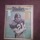 Pittsburgh Steelers Weekly Magazine, August 8, 1981, Robbie Martin 707161059