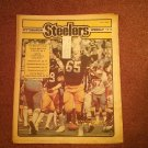 Pittsburgh Steelers Weekly Magazine, July 1981, Tom Beasly 707161061