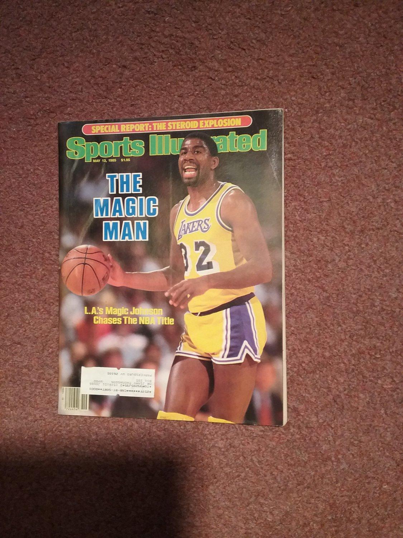 Sports Illustrated Magazine May 13, 1985 Magic Johnson 0707161143