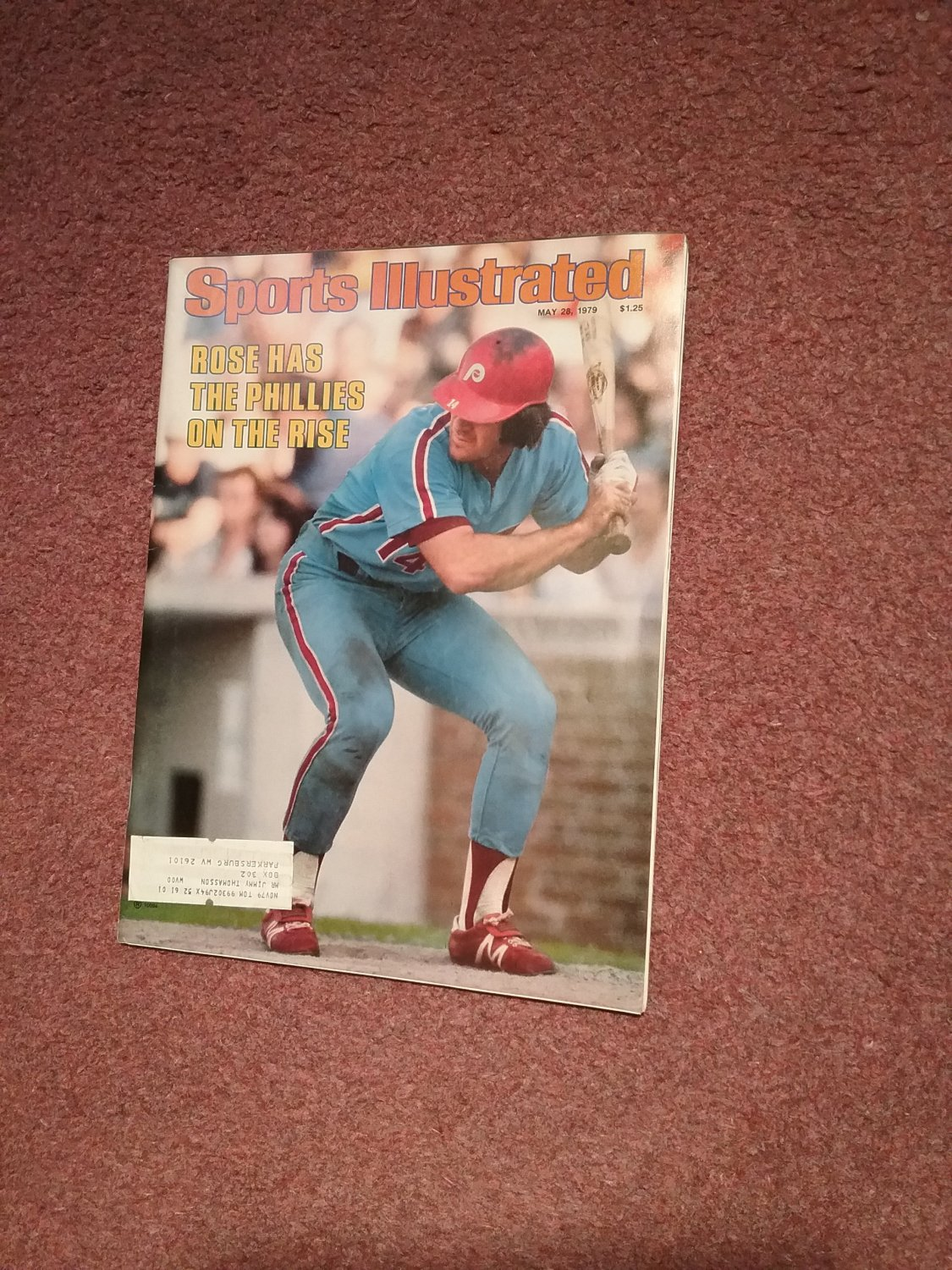 Sports Illustrated Magazine May 28, 1979 Pete Rose  0707161144