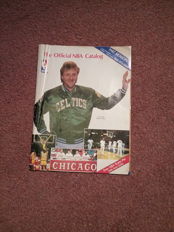 The Official NBA Catalog, Celtics, Lary Bird  0707161207