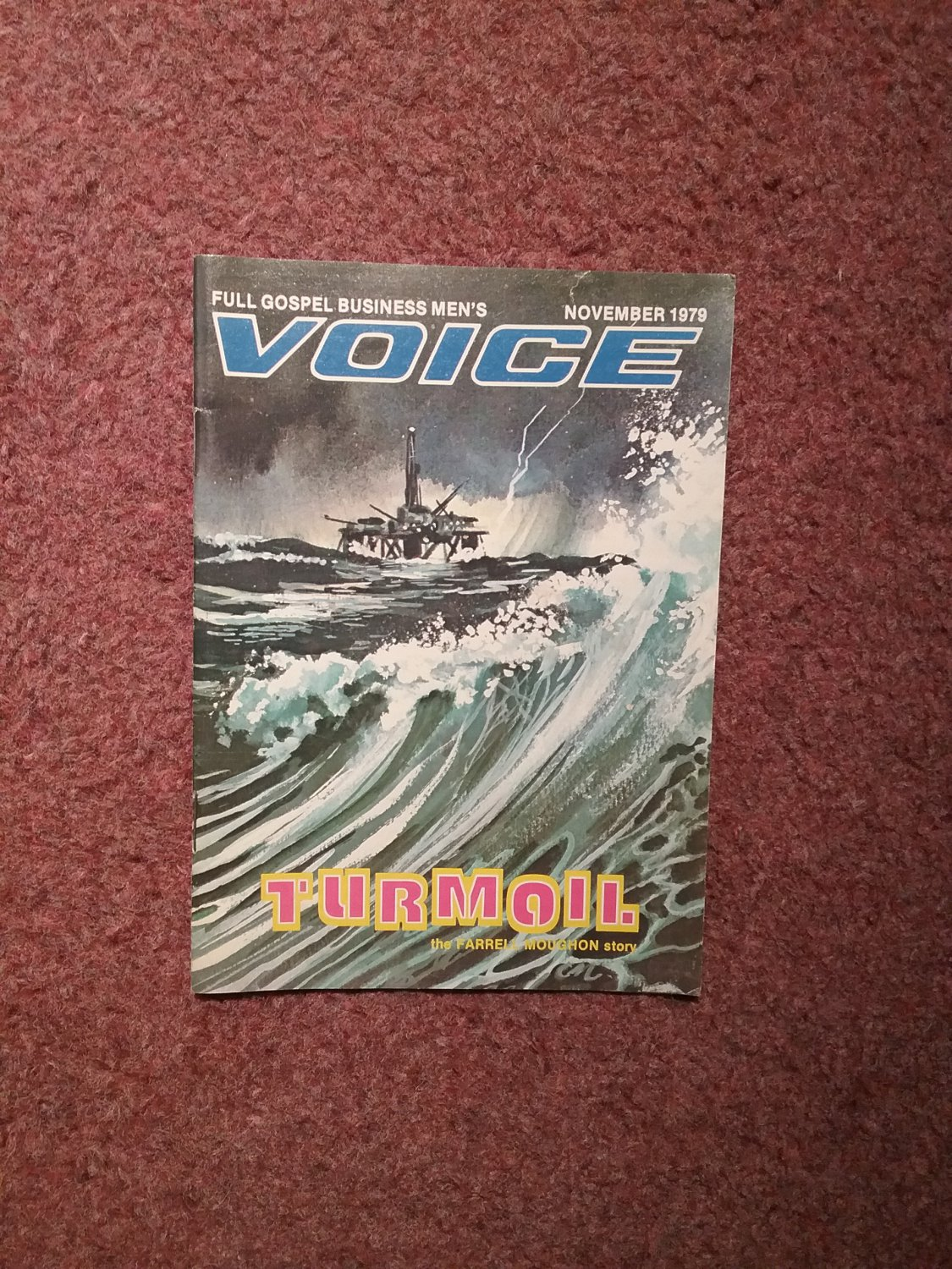 Full Gospel Business Men's Voice Magazine, November 1979  0707161357