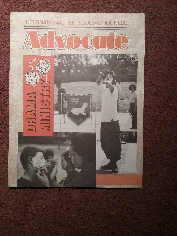 Christian Magazine, Advocate Ocotober 1990 Drama Minstry 07071366