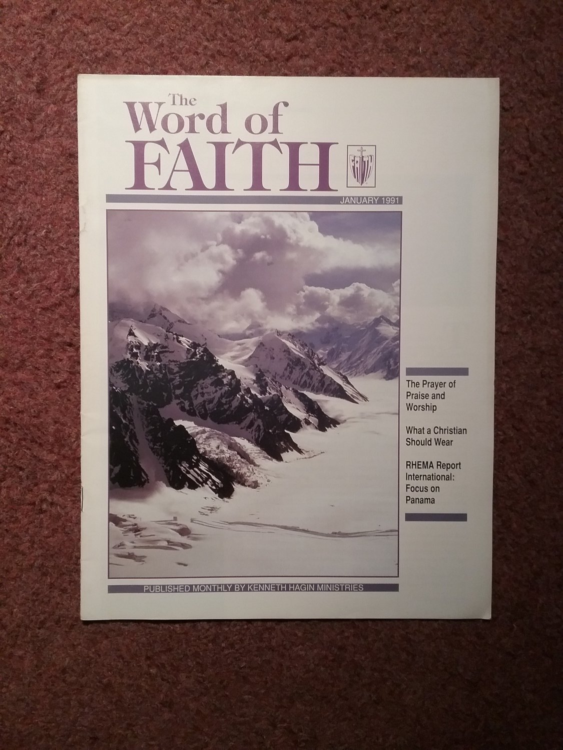 The Word of Faith, Magazine, January 1991, What a Christian Should Wear 0707161370
