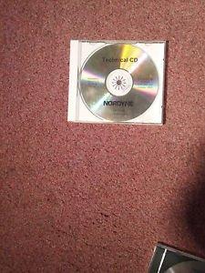 2 Nordyne Techinical CD-ROMS  847A1000,847A0304, 1997-2000, 2002-2004 0707161433