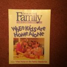 Focus on the Family Magazine, August 1993, Kids Home Alone  0707161457