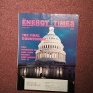 The Energy Times Vol 3, No 4 Call Congress on Supplements 0707161479