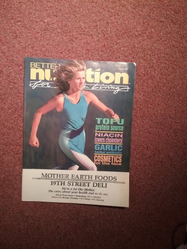Better Nutrition Magazine, August 1992, Garlic Herbal Antibotic  0707161493