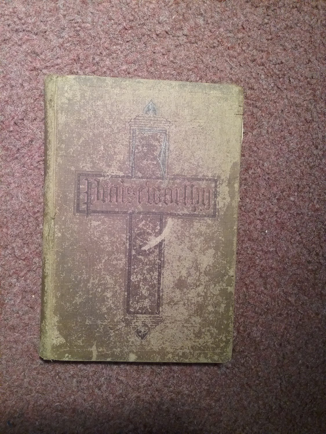1916 Praiseworthy for The Church and The Sunday School, Hymnal  0707161498