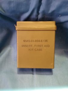 Insert, First Aid Kit Case OD Green Military Surplus M09241670