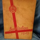 1945 Parkersburg West Virginia High School WV Yearbook Parhischan 0707161541