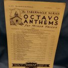 1951 Octavo Anthems The Church in the Wildwood A272  9707161581