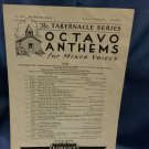 1951 Octavo Anthems No One Like Jesus A268  9707161582