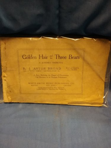 1872 Golden Hair and The Three Bears Operetta (MISSING PAGE)  9707161585
