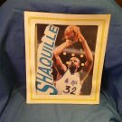 8 x 10 Carboard Picture of Shaq, under Glass, Orlando Magic M09241688