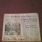 1976 The Parkersburg News, Parkersburg, West Virginia 1st Section  0707161606