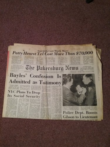 1976 The Parkersburg News, West Virginia 1st Secton Morning 3-23-76 0707161609