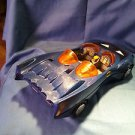 1984 Kenner Dynamic Duo's  Batmobile Blue , Moveable Parts M09241685