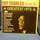 "Vintage 12 inch 33 rpm Vinyl LP,Ray Charles,""Greatest Hits""1962 Vinyl VG  092416264"