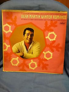 DEAN MARTIN Winter Romance LP HOLIDAY VINYL MONO T-91285 skuM092416244